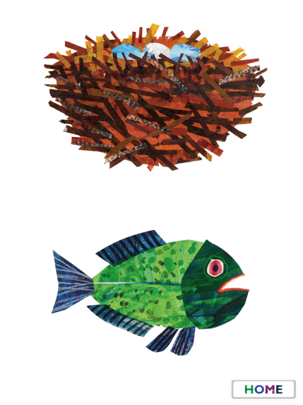 Eric Carle's My Very First App - Easy level