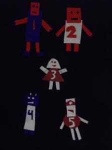Five Little Robots