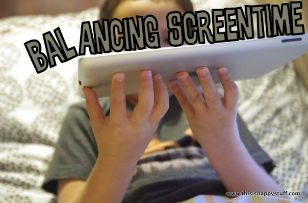 balancing screen time