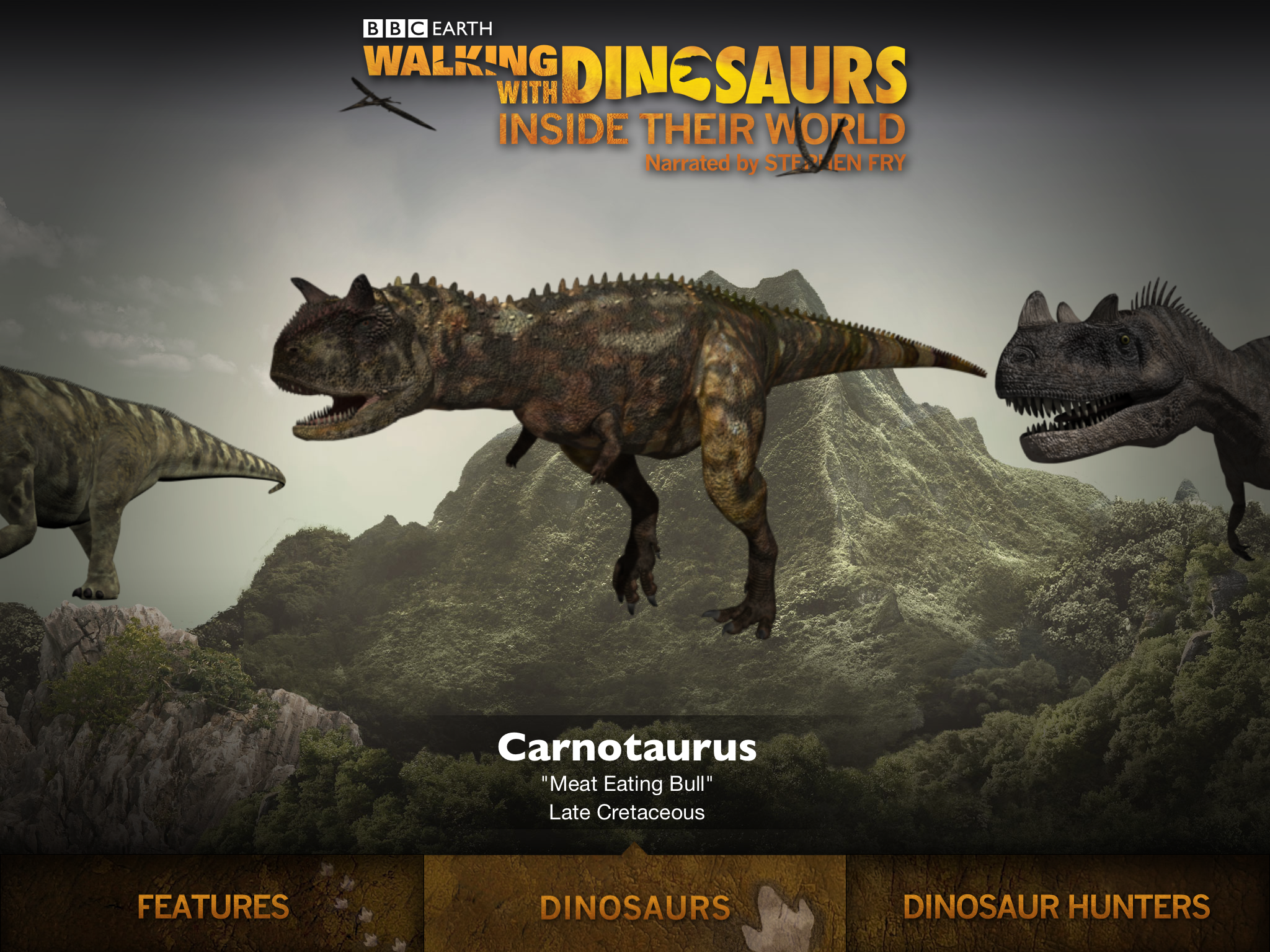BBC Earth Walking with Dinosaurs: An app review, by Awnali Mills